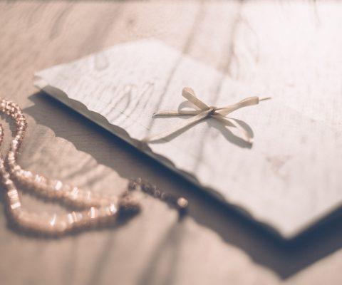 Binded letter