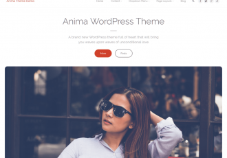 Anima Plus Theme