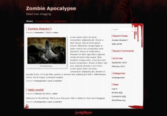 Zombie Apocalypse Theme