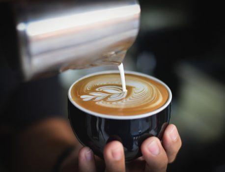 Some coffee art